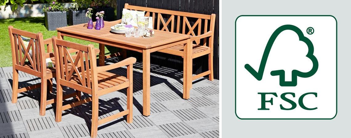 FSC Πιστοποιημένα ξύλινα έπιπλα κήπου | Facebook